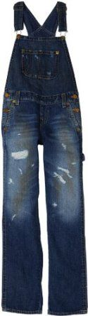 True Religion Boys 8-20 Hudson Overall Pant