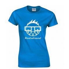 Radio Head Fashion Print 100% Cotton Women's T-shirt