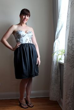 Suzanne sews a gorgeous bodice dress from our native owl fabric!