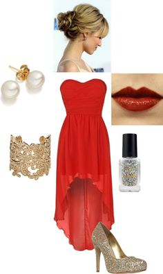 """Christmas party outfit"" by crabcreek on Polyvore"