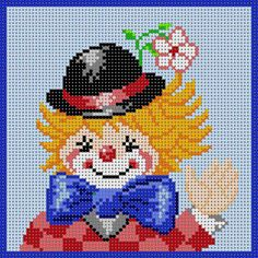 Clown With Hat