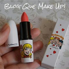 Apaixonada pela minha comprinha cor betty bright #mac #batom #makeup - @quemakeup- #webstagram