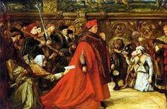 On November 29, 1530, Cardinal Wolsey died, en route to London, arrested after over twenty years of loyal service. He had many enemies, but also had a reputation for justice amongst the ordinary people who had access to his courts.