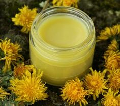 how to make a dandelion salve that is useful for: sore muscles, achy & arthritic joints, and rough, chapped skin. Dandelion salve is especially ideal for Natural Health Remedies, Herbal Remedies, Natural Medicine, Herbal Medicine, Diy Cosmetic, Belleza Diy, Salve Recipes, Hygiene, Calendula