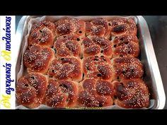 Σταφιδόψωμο με ίνες σαν βαμβάκι (νηστίσιμο) - YouTube French Toast, Food And Drink, Breakfast, Youtube, Recipes, Breads, Flower, Morning Coffee, Bread Rolls
