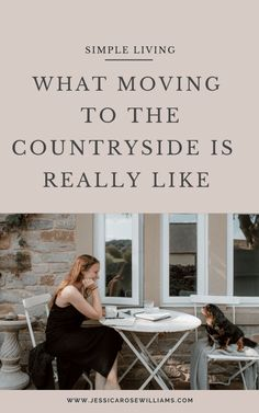 downsizing and moving to the countryside - what it's really like - Jessica Rose Williams Minimalist Living Tips, Minimalist Lifestyle, Junk Drawer Organizing, Organizing Life, Country Cottage Living, Rose Williams, Jessica Rose, Slow Living, Where The Heart Is
