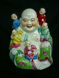 Multi-colored Porcelain Buddha