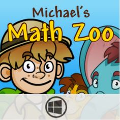 Build your own zoo w/ the game-quiz app Michael's Math Zoo! Correct answers get you new things to add to your zoo!
