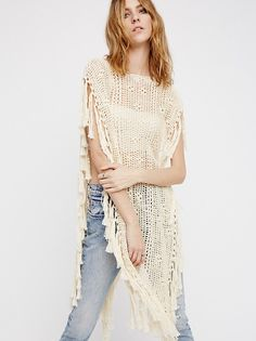 Without Borders Crochet Kaftan from Free People!
