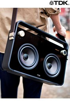 Can't believe these are back! TDK 2 Speaker Boombox