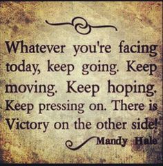Keep hoping