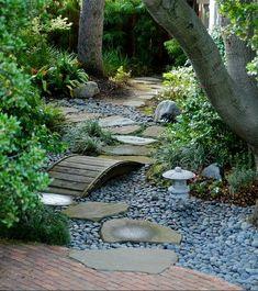 Il giardino delle Naiadi: PONTI E PASSERELLE