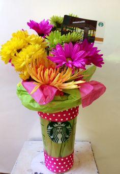 Starbucks gift card idea