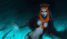 The Legend of Zelda: Midna by Zolaida.deviantart.com on @deviantART