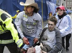 The emergence of what appears to be Egyptian and Syrian crisis actors sparks memories of the Boston Marathon bombing and its very questionable aftermath...