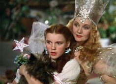 Dorthy and Glinda the Good Witch
