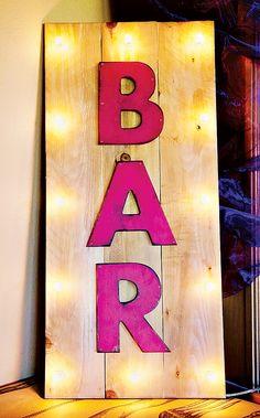 Moulin Rouge Bar sign