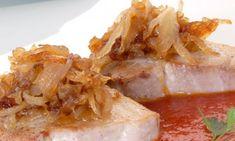 Atún encebollado con salsa agridulce de Karlos Arguiñano