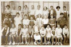 West Kentucky Genealogy: 1937 Wingo 5th Grade Class, Graves County, Kentucky
