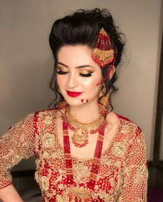 Pakistan Bride, Pakistan Wedding, Pakistani Bridal Makeup, Pakistani Bridal Dresses, Bridal Pictures, Bridal Pics, Bridal Looks, Bridal Style, Nikkah Dress