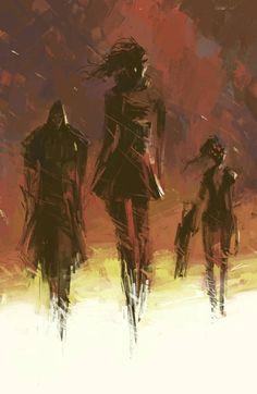 Reaper - Sombra - Widowmaker
