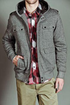 Micros Raditude Zip Up Sweater Dark Grey Gray Jacket, Hoodie Jacket, Jack Threads, Zip Up Hoodies, Sharp Dressed Man, Mens Fashion, Fashion Outfits, Zip Up Sweater, Stylish Men