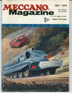 MOONBASE CENTRAL: In Pursuit of the SPV | Meccano owned Dinky Toys, who made the earliest _Captain Scarlet_ die-cast models | Gerry Anderson