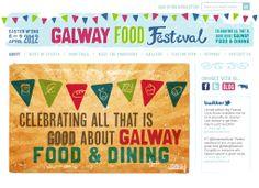 Galway Food festival website www.galwayfoodfestival.com