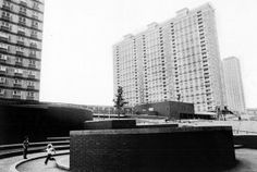 Red Road flats 2_harry_hood Council Estate, Glasgow, Skyscraper, Multi Story Building, Red, House, Flats, Loafers & Slip Ons, Skyscrapers