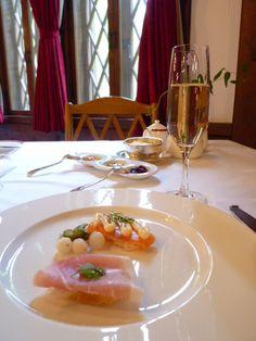 "Prima colazione  ""IMPERIAL HOTEL"", Kamikochi Nagano Japan"