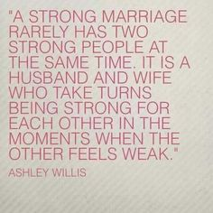 It is a husband and wife who take turns...
