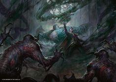 Collective Brutality - Eldritch Moon MtG Art