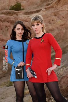 Cosplay Dress, Cosplay Girls, Cosplay Costumes, Star Trek Dress, Star Trek Cosplay, Tights And Boots, Fashion Poses, Girl Pictures, Short Skirts