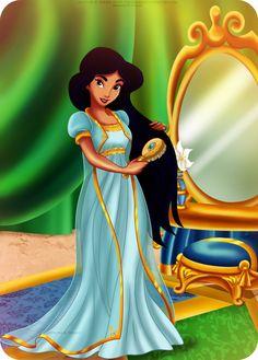 Jasmine - goodnight Princess by *selinmarsou on deviantART