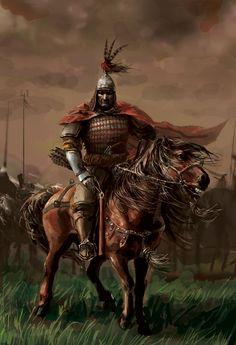 Kajjor I the Wanderer Fantasy Warrior, Fantasy Figures, Fantasy Characters, Ancient Art, Ancient History, Vikings, Mongolia, Asian History, Orient