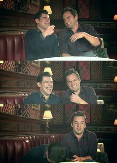Love this picture. Nick Miller and Schmidt. / New Girl