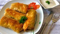 Wiejskie krokieciki z pysznym farszem - Blog z apetytem Polish Recipes, Polish Food, Hot Dog Buns, Cornbread, French Toast, Food And Drink, Cooking Recipes, Meals, Breakfast
