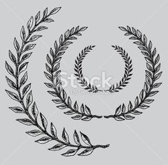 Olive Branch Royalty Free Stock Vector Art Illustration