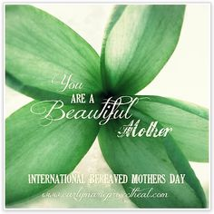International Bereaved Mother's Day recognizes a pregnancy loss, infant loss and death of a child. #pregnancyloss #stillborn #infantloss #infantdeath