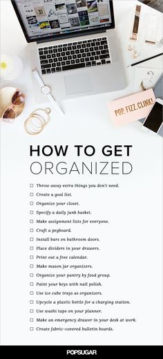 Nothing is better than a home that is easy to navigate with belongings that are even easier to find. Don't forget about your office, too — there are plenty of ways to keep your space neat for the most productive of workdays. Check out all of our resolutions for systemization, and get to organizing!
