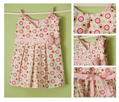 Girl's Dress Pattern PDF - Katelin Dress Size 18m-5T