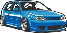 Stained out Golf Vw Golf Mk4, Volkswagen Golf, Compro Moto, Vw R32 Mk4, Jetta A4, Skyline R33, Most Popular Cars, Car Drawings, Car In The World
