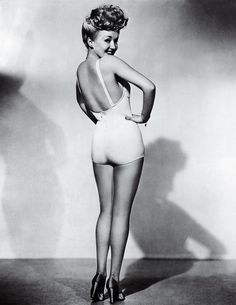 Betty Grable by Frank Powolny