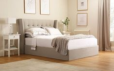 Search   Furniture And Choice Clean Bedroom, Bedding Master Bedroom, Room Ideas Bedroom, Bedroom Furniture Sets, Bed Furniture, Ottoman Storage Bed, King Storage Bed, Ottoman Bed, Fabric Ottoman