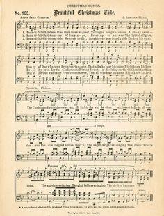 Free Christmas Music Page Printables Christmas Images, Christmas Art, Christmas Projects, Beautiful Christmas, Christmas Holidays, Christmas Decorations, Christmas Journal, Christmas Nativity, Holiday Decorating