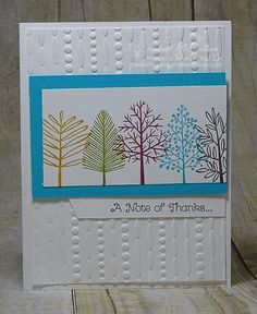 Totally Trees Simple Card by darhm - Cards and Paper Crafts at Splitcoaststampers