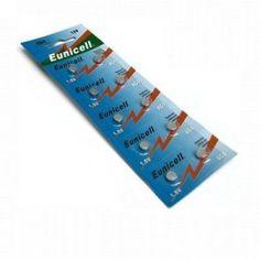 Eunicell AG4 Lot de 10 piles bouton alcalines Type G4 LR66 / LR66SW / LR626 / LR626SW / SR626W 376 377