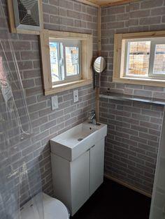 Tiny House, Building A House, Bathtub, Bathroom, Standing Bath, Bath Room, Bath Tub, Tiny Houses, Bathrooms