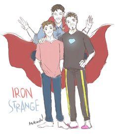 <<<Also known as Supreme Family! Marvel Avengers, Marvel Jokes, Avengers Memes, Marvel Comics, Superfamily Avengers, Spideypool, Strange Family, Dr Strange, Loki