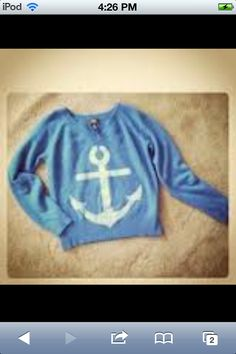 Anchor sweater  (would want it oversized)
